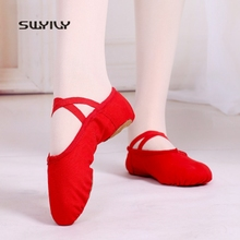 SWYIVY Women Ballet Dance Shoes Professional Dance Sneakers