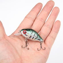 8.5G 5.5CM Bass Fishing Lures Crank Bait Crankbait Tackle Swim bait wobblers fishing japan Hard  Crazy Fish Lure