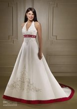 Wholesale - New Halter V-Neck Beauty Strapless Wedding Dresses/custom
