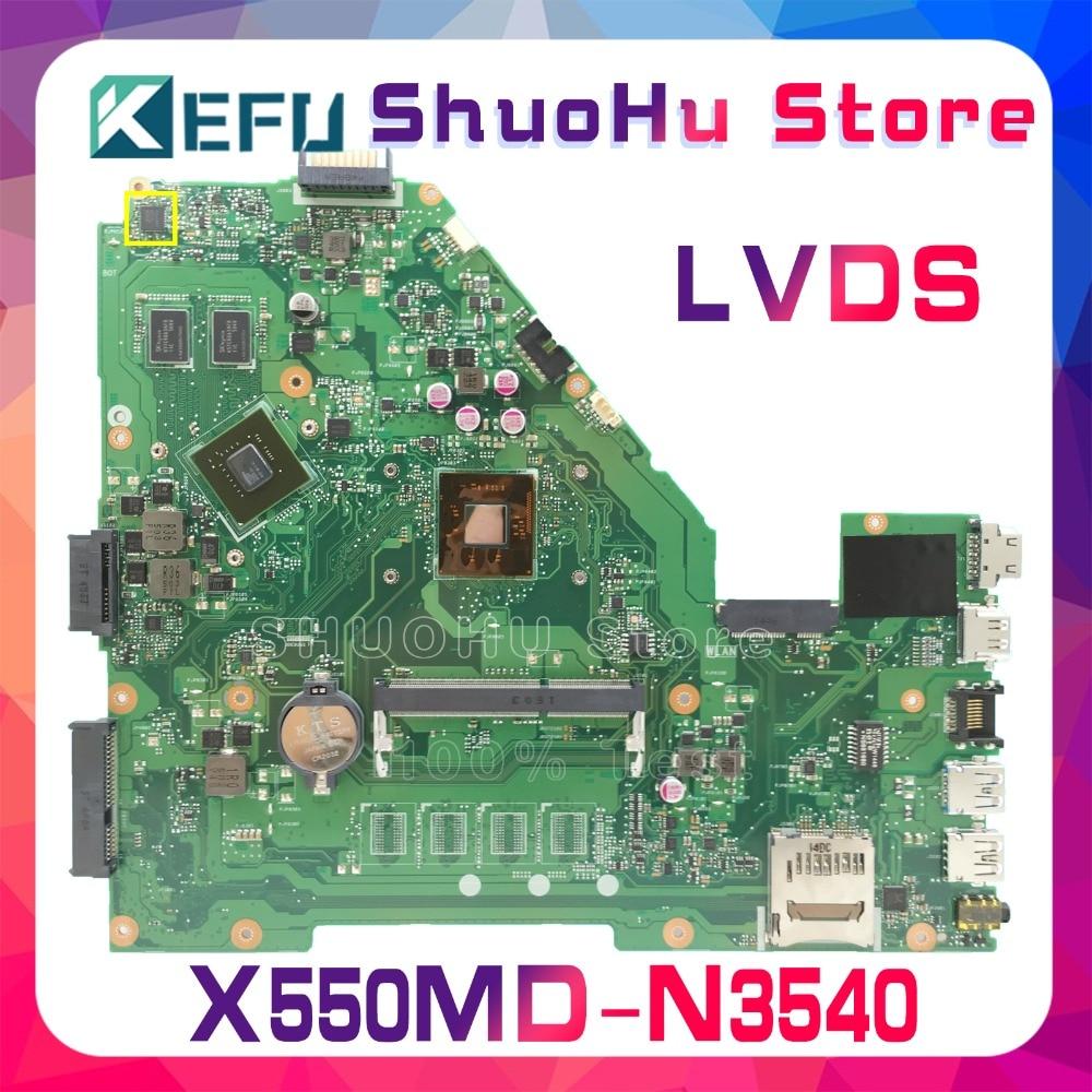 все цены на KEFU For ASUS X550MD X552M X550MJ R513MD R513MJ REV2.0 laptop motherboard tested 100% work original mainboard онлайн