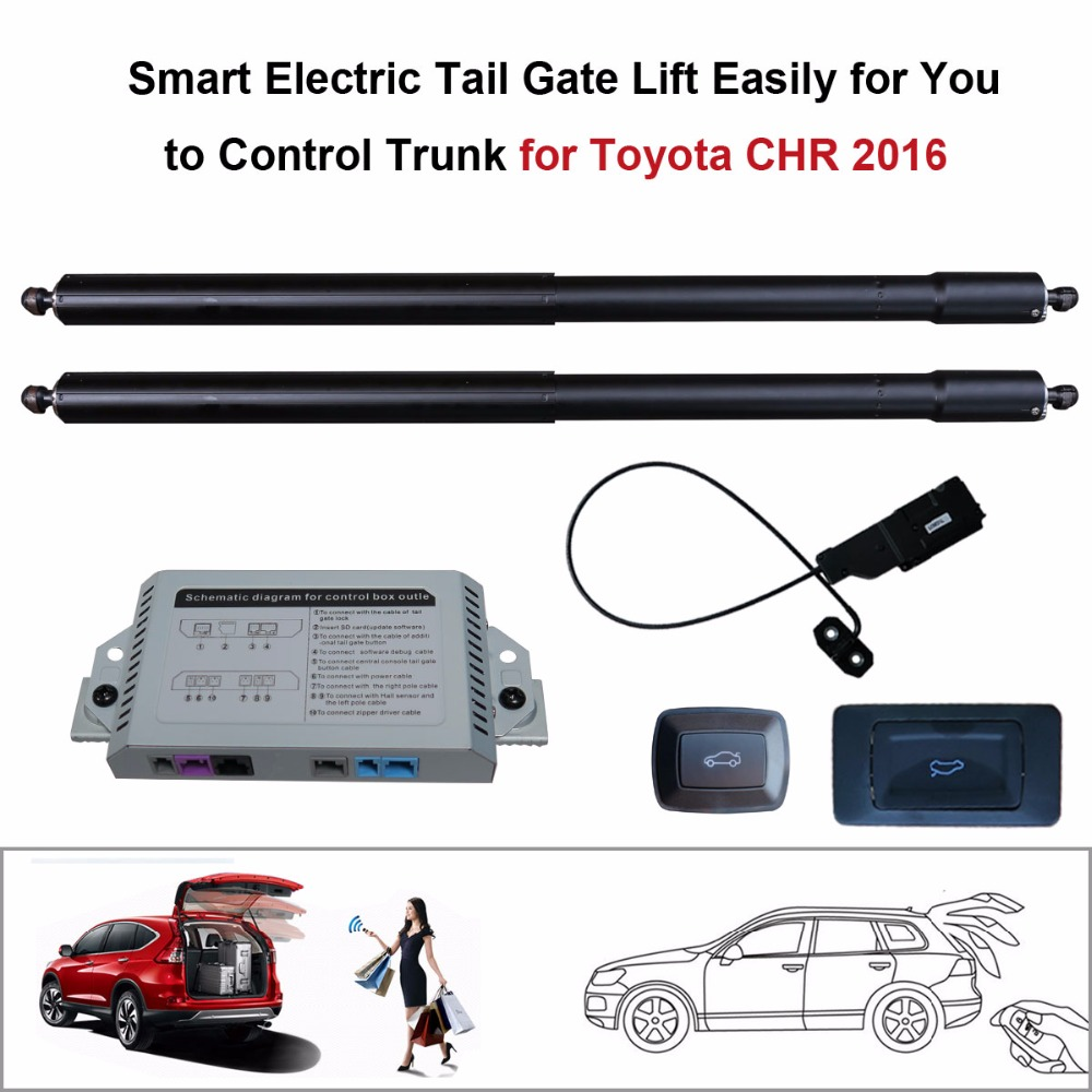 Smart Auto Electric Tail Gate Lift For Toyota Chr 2016 Control Set Subaru 360 Wiring Diagram Height Avoid Pinch In Trunk Lids Parts From Automobiles Motorcycles On