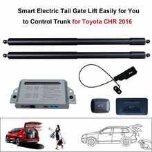 Smart Auto Electric Tail Gate Lift for Toyota CHR 2016 Control Set Height Avoid Pinch smart auto electric tail gate lift for hyundai ix35 control by remote drive seat tail gate button set height avoid pinch