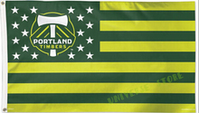 3ft x 5ft Portland Timbers Stars and Stripes MLS Flag and Banner 100D