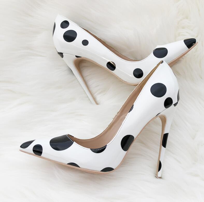 Blanc Usure De Heels Verni Valentine Grande Heels Cuir Mode Noir 43 Taille Partie Femmes 8cm 12cm Pompes Automne Nouveau 10cm Heels En Dames Talons Chaussures 44 Points 5ScjLAR34q