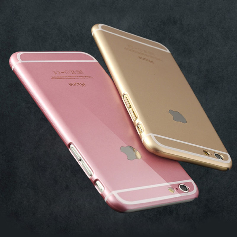 iphone pink gold new ultra thin phone cases for apple iphone 6 4 7 12135