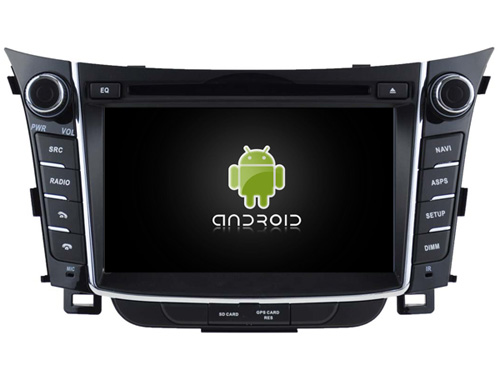 Android CAR Audio DVD player gps FOR HYUNDAI I30 2012 Multimedia navigation head device unit receiver