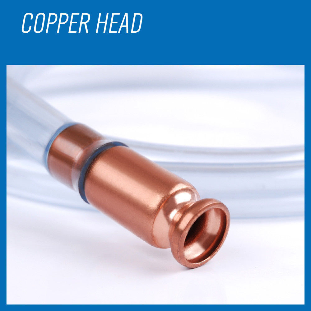 HORUSDY 6FT Self Priming Transfer Fuel Water Oil Transfer Paint Copper Siphon Hose Jiggler Pump for Safely Pumps Water Fuels in Tool Parts from Tools