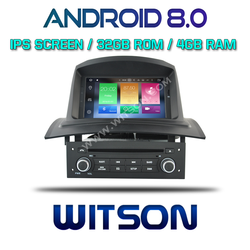 witson android 8 0 ips hd screen for renault megane ii car. Black Bedroom Furniture Sets. Home Design Ideas