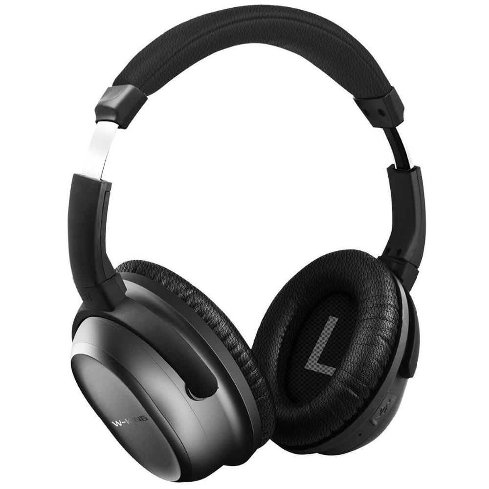 Portable Bluetooth Headphone Wireless Active Noise Cancelling  HIFI Super Stereo Sound Headphone with Mic for mobile Phone