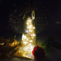 Mabor Fairy Light String Beautiful Night Light Glass Room Decor Holiday Lighting Party Supply Light String