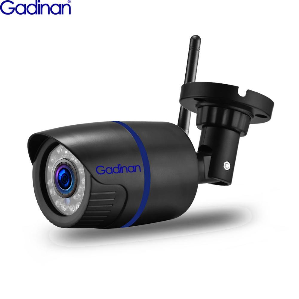 Gadinan Yoosee Wifi IP Camera 720P 1080P Wireless Wired ONVIF P2P IR Cut CCTV Bullet Outdoor Camera With SD Card Slot Max 128G
