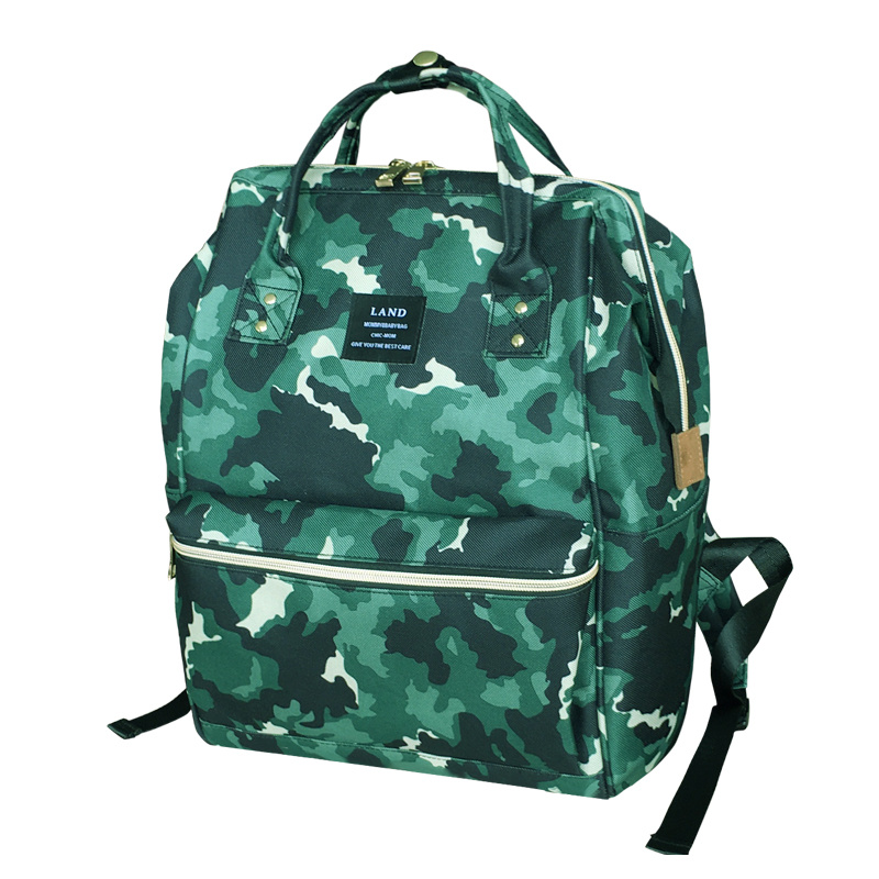 2018 New Waterproof Diaper Backpack for Travel Baby Nappy Bag Camouflage Color Mom Maternity Bag For Baby Care bolsa maternidade fashion baby bag brand stroller bag maternity diaper bag large capacity travel backpack for mommy bolsa maternidade care mom kid