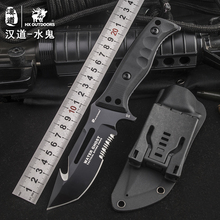 HX OUTDOORS The sub D2 steel high hardness field survival knife self-defense tactics carry outdoor knife cutter knife