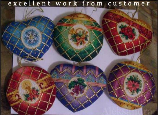 Cross Stitch Kit Timeless Elegance Ornaments Ornament dim 08706