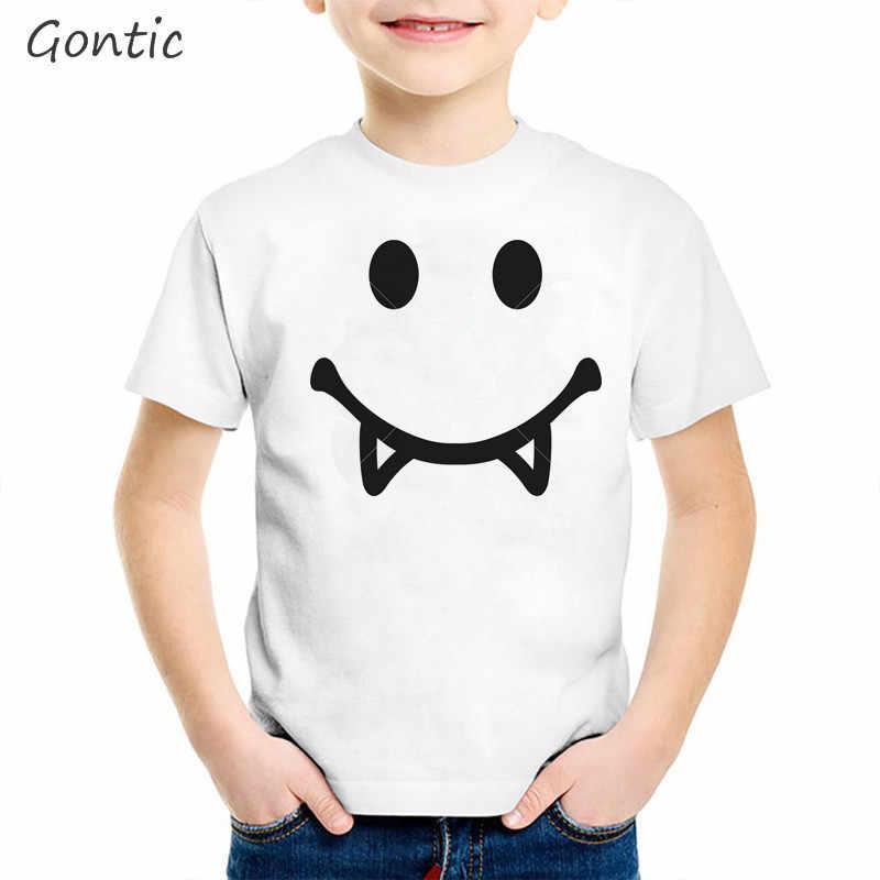 Футболка для мальчиков Marshmello забавные детские летние топы с изображением диджея и смайлика, одежда для детей от 2 до 8 лет Детская футболка с милым рисунком лица