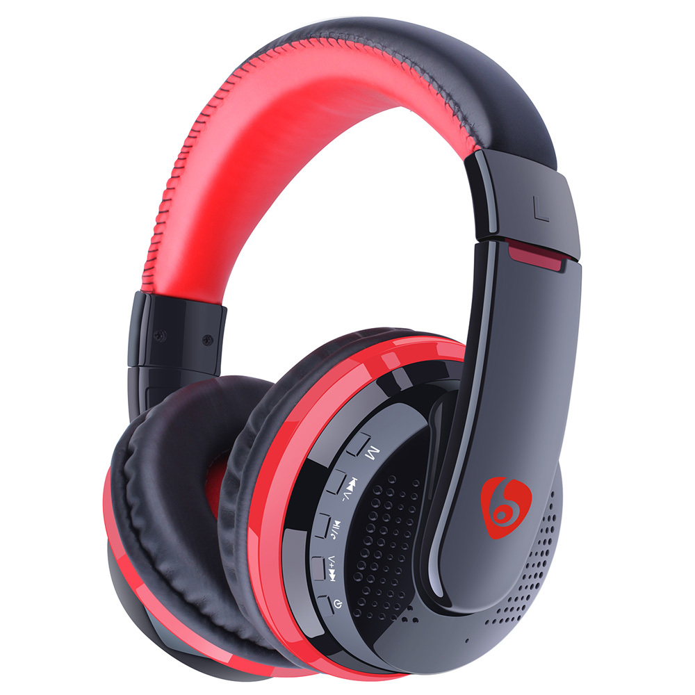 new over ear bass headphones stereo bluetooth headphone handsfree wireless headset with. Black Bedroom Furniture Sets. Home Design Ideas