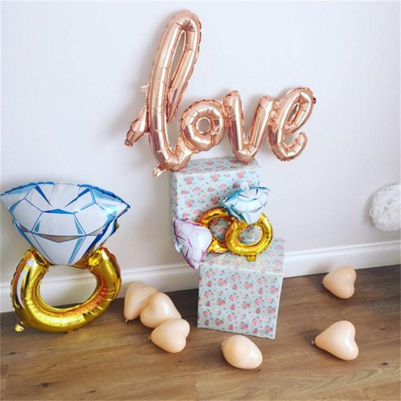 Rose-Gold-Diamond-Ring-Foil-Balloon-Gold-Bride-to-Be-Balloon-Letter-Balloon-Engagement-Bridal-Shower (2)