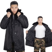 Winter New Men's Warm Cotton Jacket Tooling Style Fashion Thick Coat Detachable Cold Cotton Clothing Size M 4XL