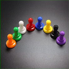 16 шт. Пластик пешка Пластик Chesses штук для Настольная игра 24*16 мм Аксессуары; Бесплатная доставка