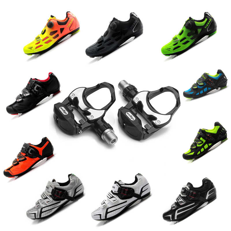 Tiebao road cycling shoes sapatilha ciclismo 2019 men women Bicycle road pedals self-locking breathable bicicleta bike sneakers