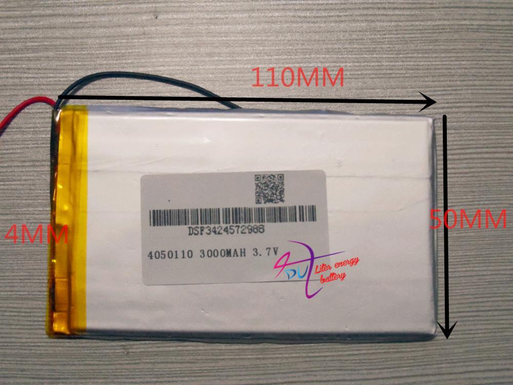 Digital Batterien Unterhaltungselektronik Verantwortlich Beste Batterie Marke T7 Hat P7 N7 M7 N18 Tablet 4050110 3,7 V 3000 Mah Universal Li-ion Batterie Für Tablet Pc 7 Zoll 8 Zoll 9 Zoll