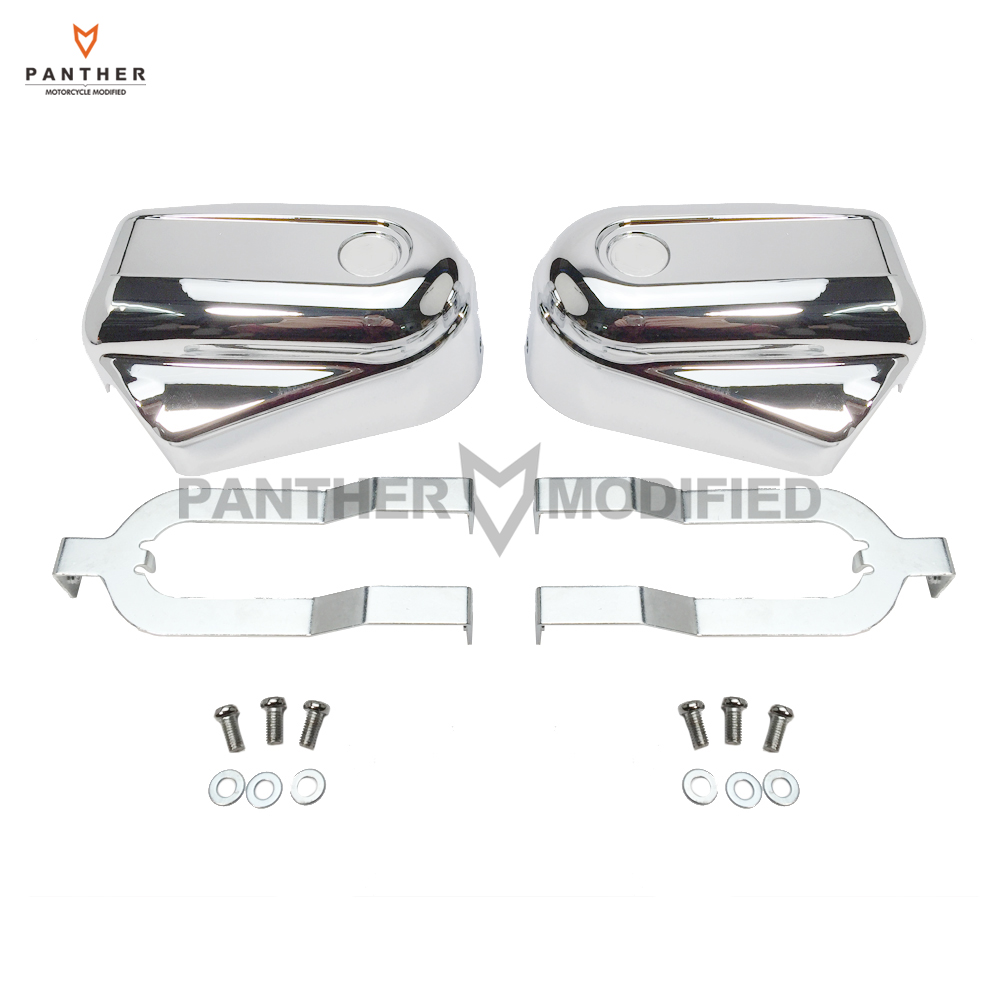 Chrome Motorcycle Bar Shield Rear Axle Covers swingarm Cap Moto Frame Shell case for Harley Softail FLSTC FLSTN FXSTB 2008-2017