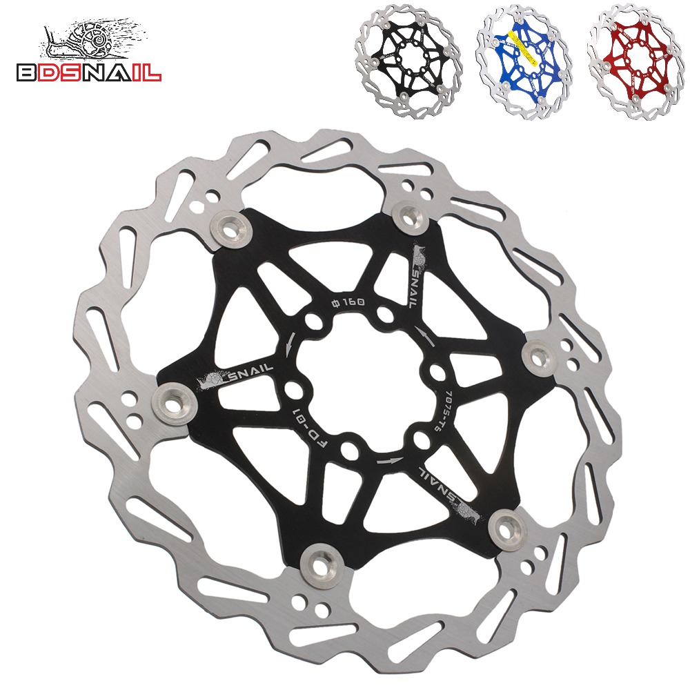 140//160//180//203mm MTB Bike Disc Brake Rotor IS//PM Caliper Disc Brake Adapter CNC