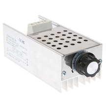 AC220V 10000 W High Power SCR BTA10 Electronic Voltage Regulator Speed Controller Digital Display For Dimming Speed Thermostat