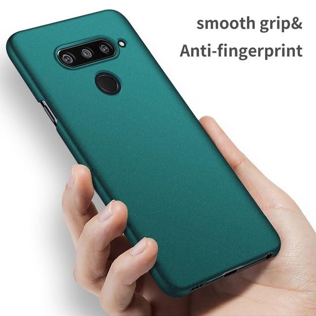 For LG V40 G5 G6 G7 V30 Case, Ultra-Thin Minimalist Slim Protective Phone Case Back Cover For LG G7 ThinQ