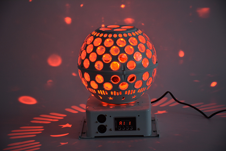 80W LED Disco Ball KTV Bar Party Lantern Magic Stage Effect light DJ dance led Magic ball light alluminum alloy magic folding table bronze color magic tricks illusions stage mentalism necessity for magician accessories