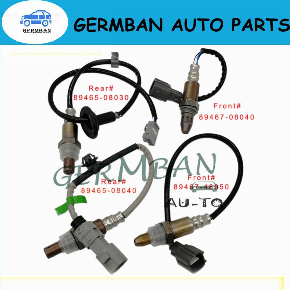 100% New Lambda 4*Up&Downstream O2 Oxygen Sensor 89467-48050 89467-08040 89465-08040 89465-08030 For Toyota Sienna 2004-06 3.3L100% New Lambda 4*Up&Downstream O2 Oxygen Sensor 89467-48050 89467-08040 89465-08040 89465-08030 For Toyota Sienna 2004-06 3.3L
