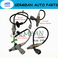100% New Lambda 4*Up&Downstream O2 Oxygen Sensor 89467-48050 89467-08040 89465-08040 89465-08030 For Toyota Sienna 2004-06 3.3L for 2007 toyota camry 3 5l air fuel sensor gl 14050 234 9050 89467 04010