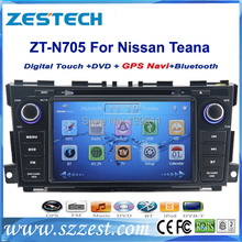 Free shipping! ZESTECH China Factory OEM 2 Din Touch screen Car gps for nissan teana 2013 2014