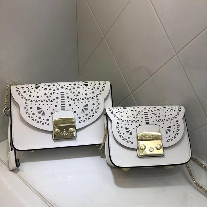 Fashion Luxury Handbags Women Bags Designer High Quality Cowhide Shoulder Bag For Ladies Hollow Clutch Messenger Bag недорго, оригинальная цена