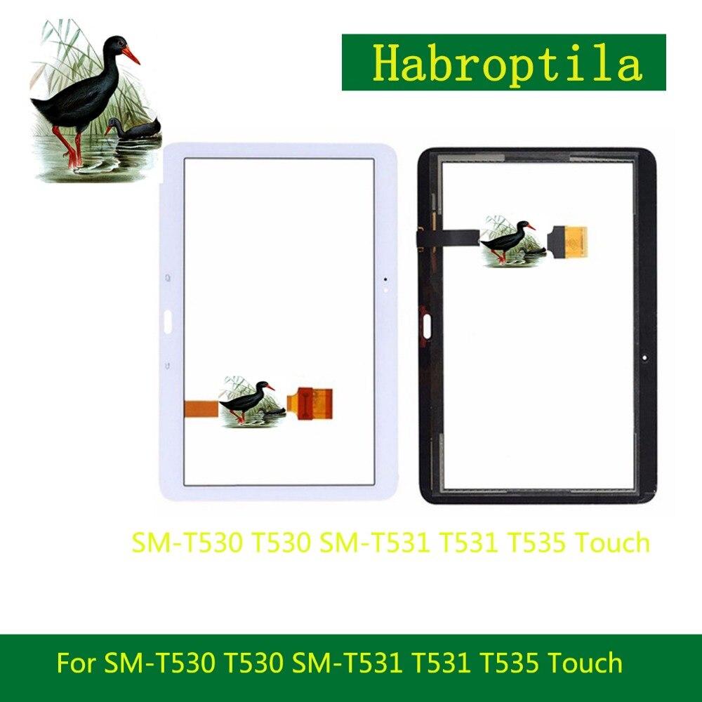 5 шт./лот для samsung Galaxy Tab 4 10,1 SM-T530 T530 SM-T531 T531 T535 Сенсорный экран планшета Сенсор спереди Стекло объектив Панель