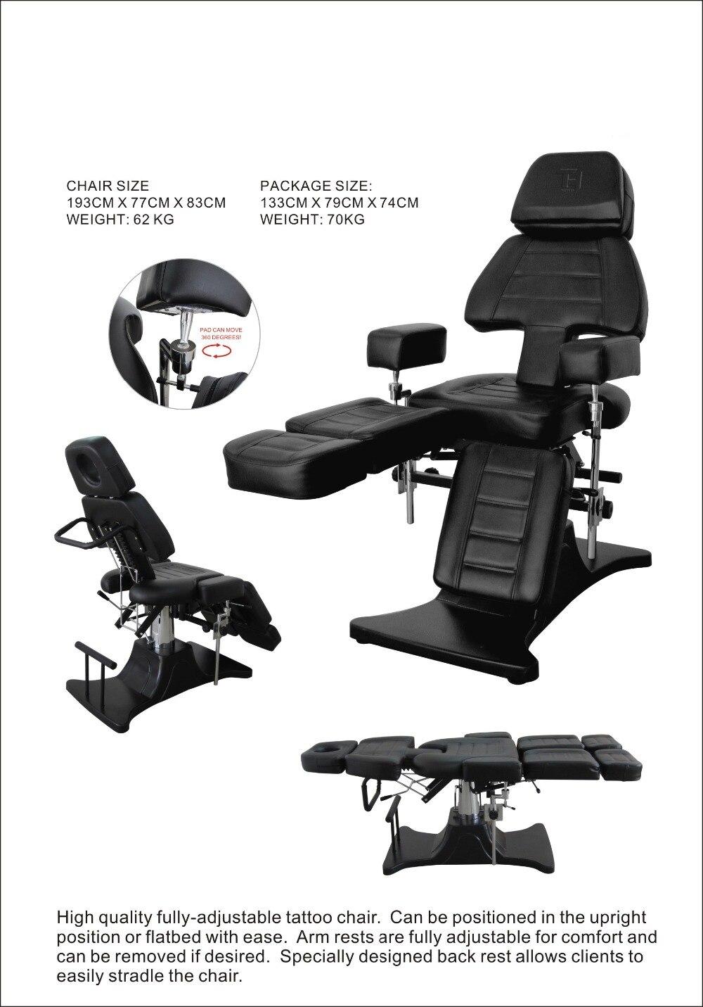 High Quality Adjustable Hydraulic Tattoo Chair Furniture