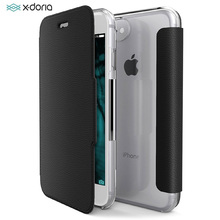 X-Doria Defense Flip Wallet Case For iPhone 7 8 Plus Luxury PU Leather  Engage Folio dedfe1c16277