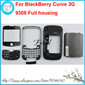 For BlackBerry Curve 3G 9300 New Full Complete Mobile Phone Housing Cover Case+Keypad(No joystick)+Free Tools, Free shipping