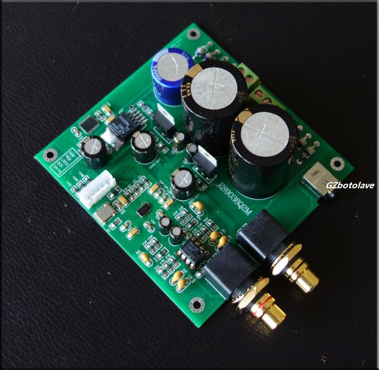 Audio & Video Replacement Parts Es9038 Q2m I2s Dsd Optical Coaxial Input Decoder Usb Dac Headphone Output Hifi Audio Amplifier Board Module We Take Customers As Our Gods