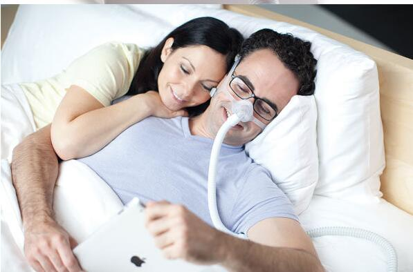 Image 3 - New Wisp Minimal Contact Mask Nasal Mask with Fabric Frame Breathing Apparatus For Sleep Apnea Nasal Anti Snoring-in Sleep & Snoring from Beauty & Health
