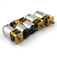 J525b N10 Mini Gear Motor 22mm Length 3V 80RPM 6V 140RPM DIY Model Making Circuit Teaching