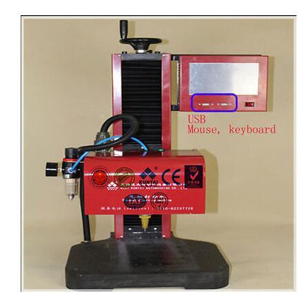 Peen Máquina Da Marcação De Impressão De Metal Integrado 220 v