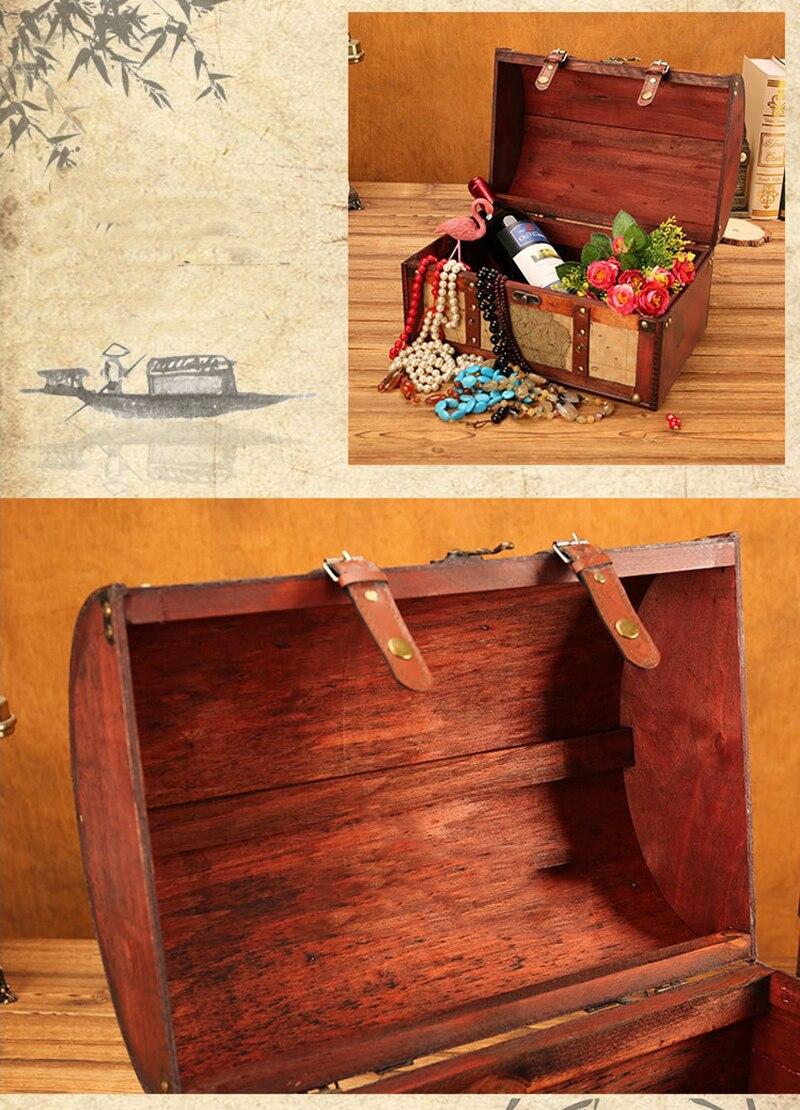 retro criativo caixa de armazenamento antigo tesouro