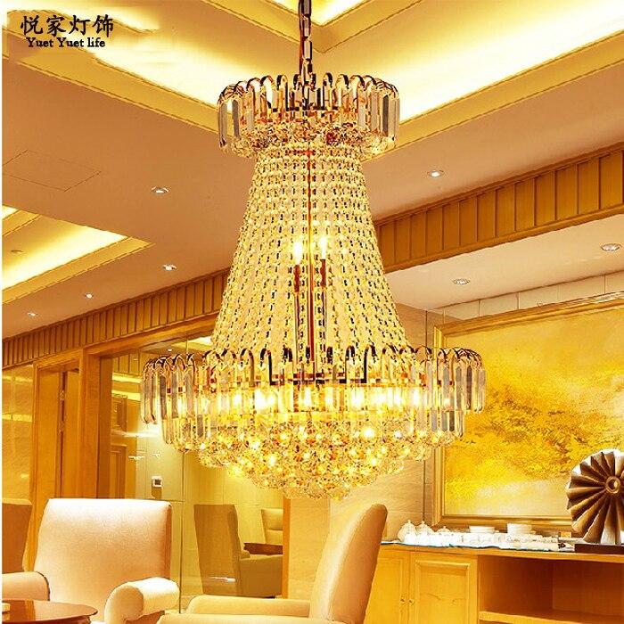 moderno lampadario di cristallo lampada di cristallo di lusso ... - Illuminazione Salotto Classico