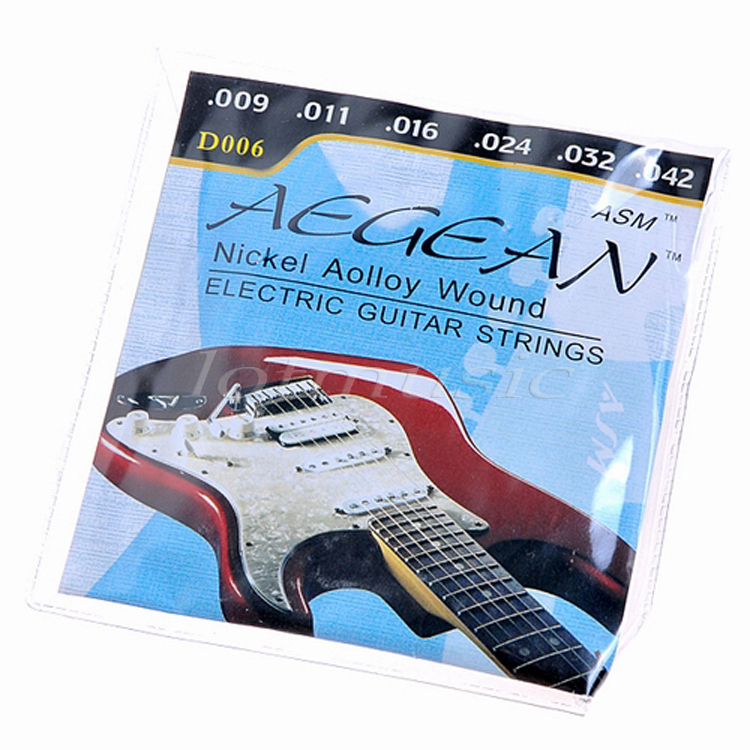 1Set 009 - .042 Nickel Alloy Wound Electric Guitar Strings