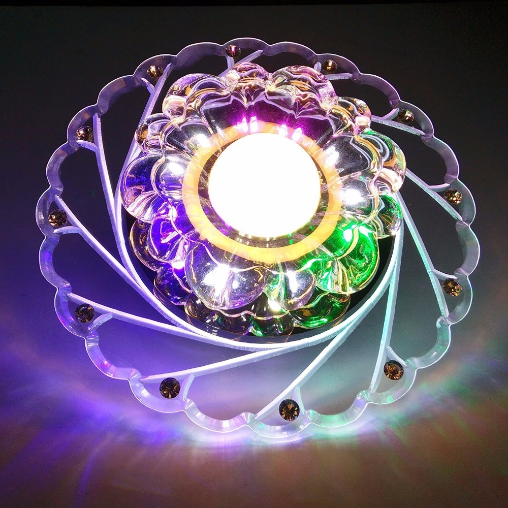 HTB1Y9fRogfH8KJjy1zcq6ATzpXaT Modern LED Crystal Ceiling Light Circular Mini Ceiling Lamp Luminarias Rotunda Light For Living Room Aisle Corridor Kitchen