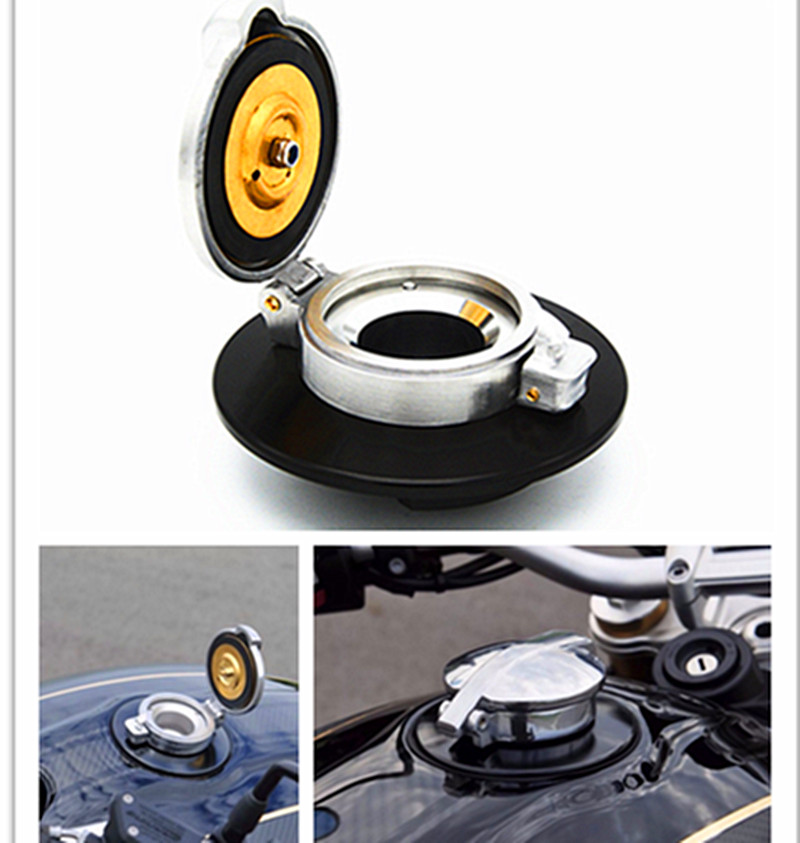 Motorcycle Cafe Racer Fuel Gas Cap For BMW R Nine T R 9T for bmw r nine t techometer speedometer ring cover r 9t
