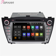 "7"" Quad Core Android 5.1 Car Stereo GPS For 2010-2013  Hyundai IX35 Tucson With Multimedia Radio 16GB Flash Mirror Link"
