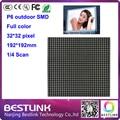32*32 pixel 4S p6 светодиодный дисплей модуль smd полный цвет rgb светодиодные панели знак светодиодный экран электронные светодиодные рекламные billboard