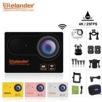 2018 Crelander R9 R9R Ultra HD 4K 25fps Action Camera Wifi Waterproof Sport Cam 2 0